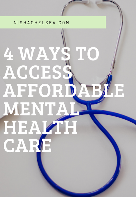 4 Ways To Access Affordable Mental Health Services