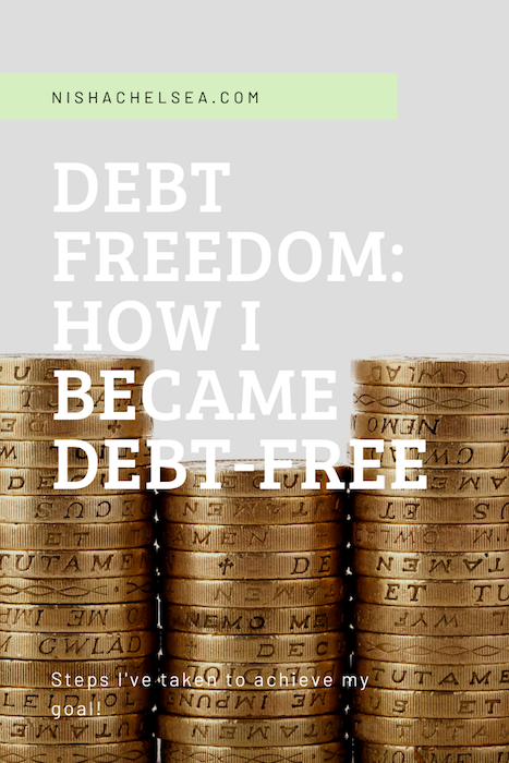 Debt Freedom: How I Became Debt-Free!